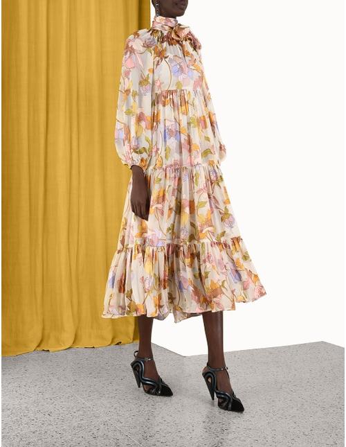 Tempo Swing Maxi Dress
