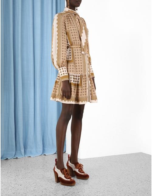 Scarf Mini Dress