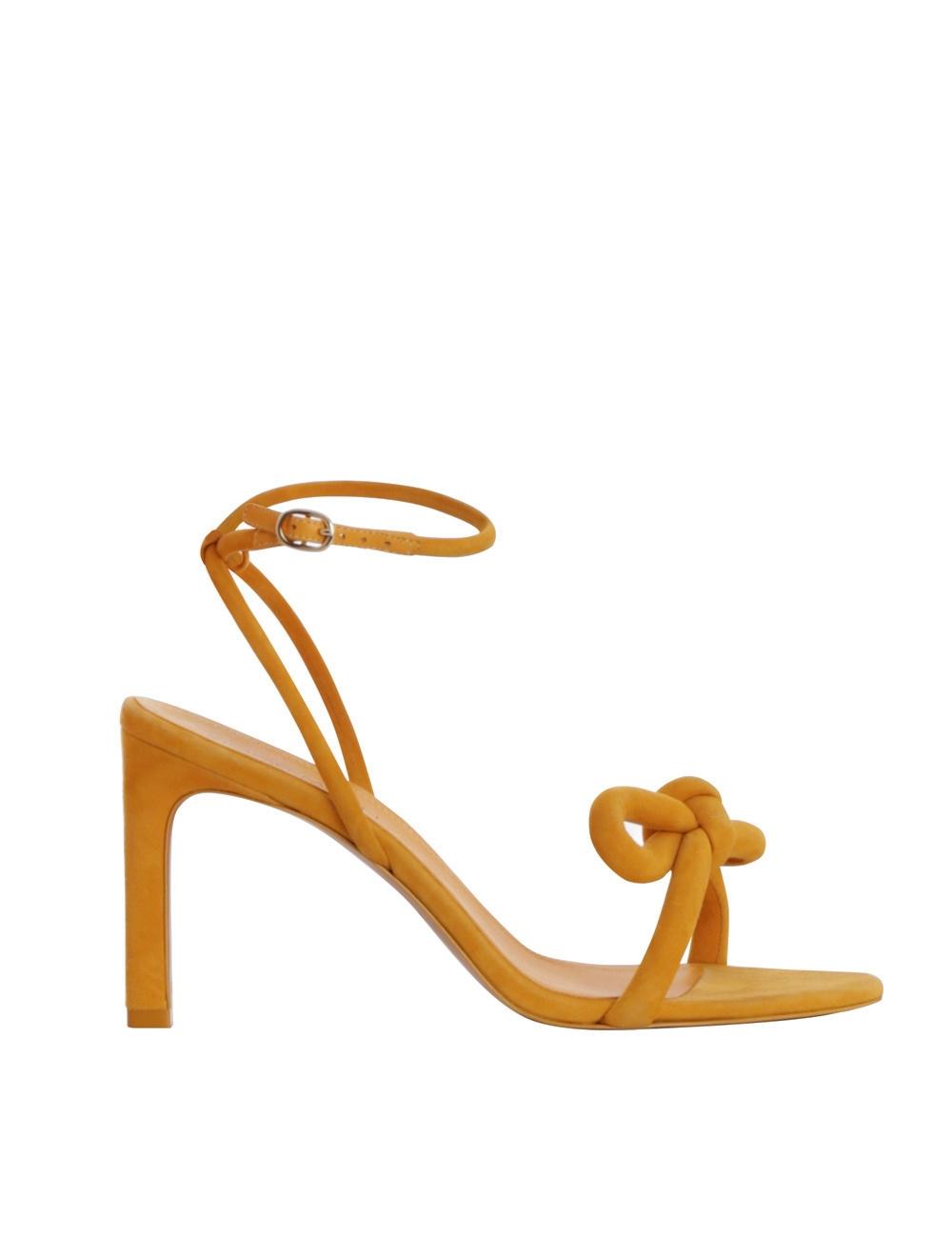 Sculptural Bow Heel