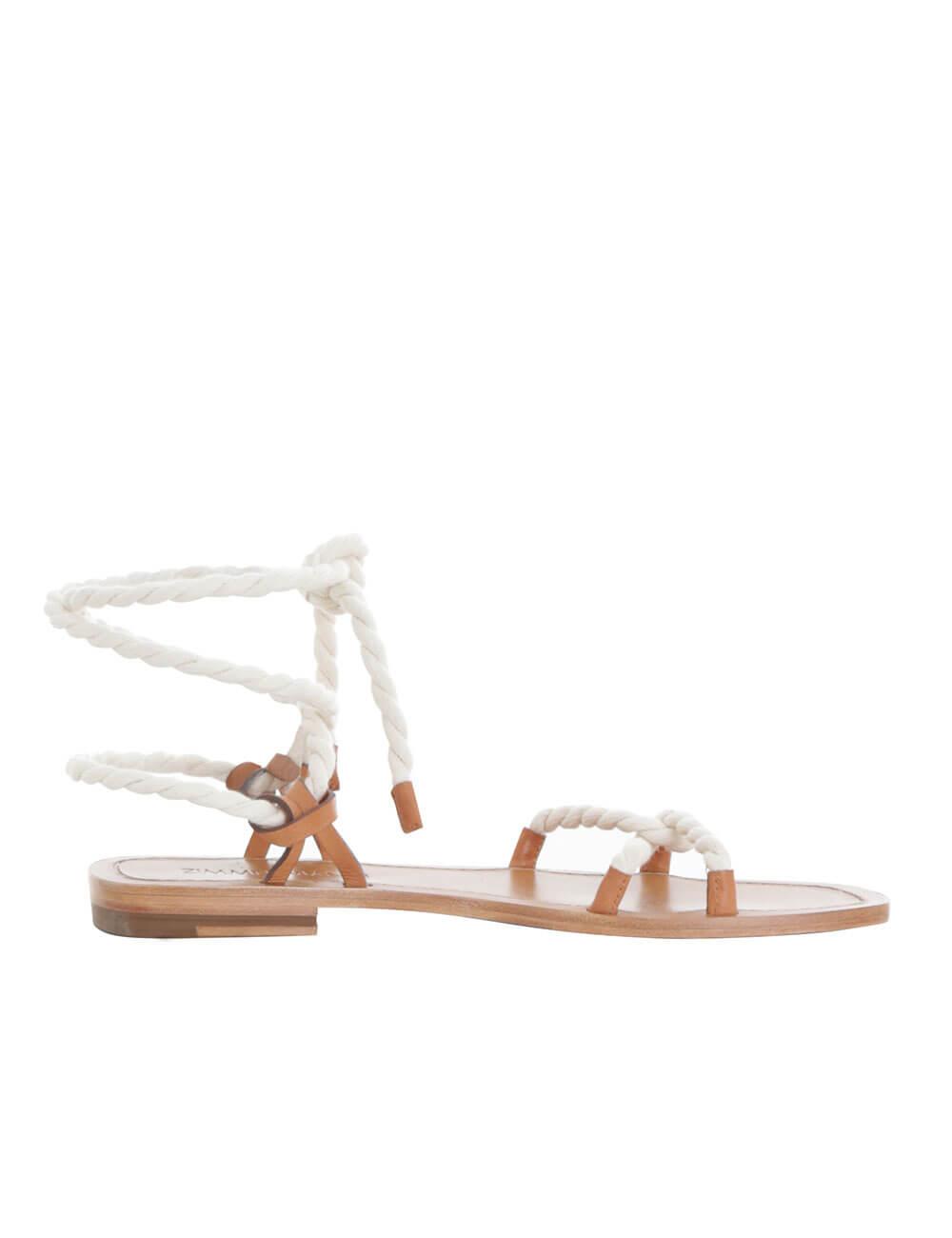 Rope Tie Flat Sandal