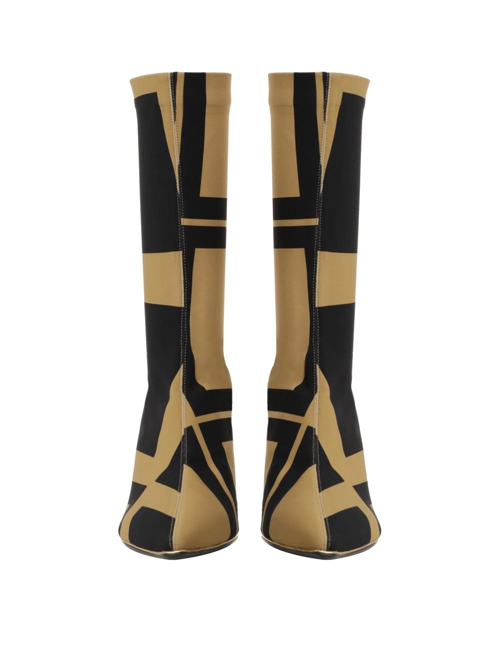 Mid Length Zip Lycra Boot