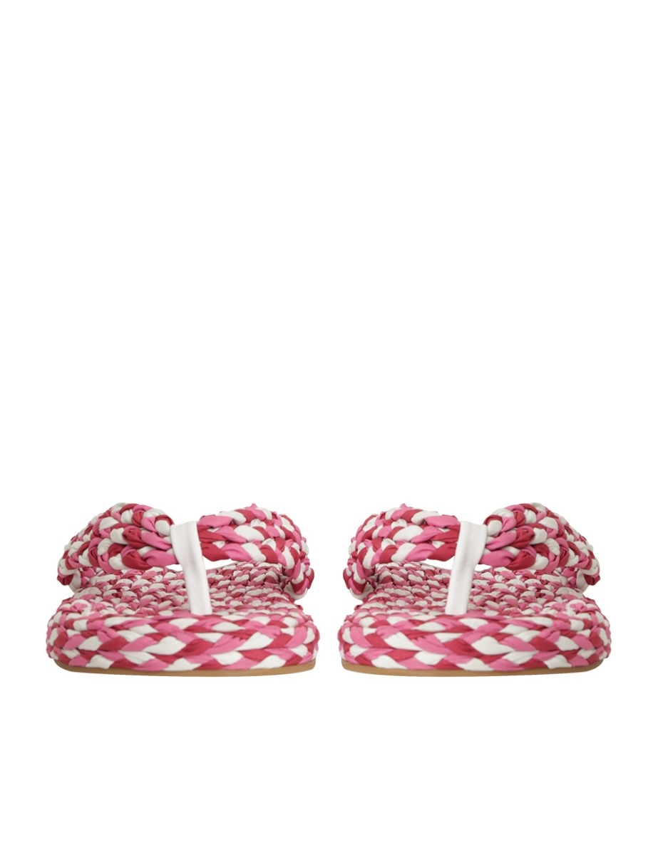 Cotton Braid Sandal