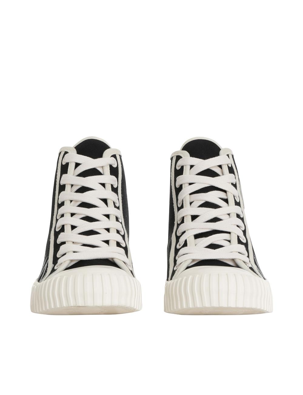 Printed Canvas Sneaker