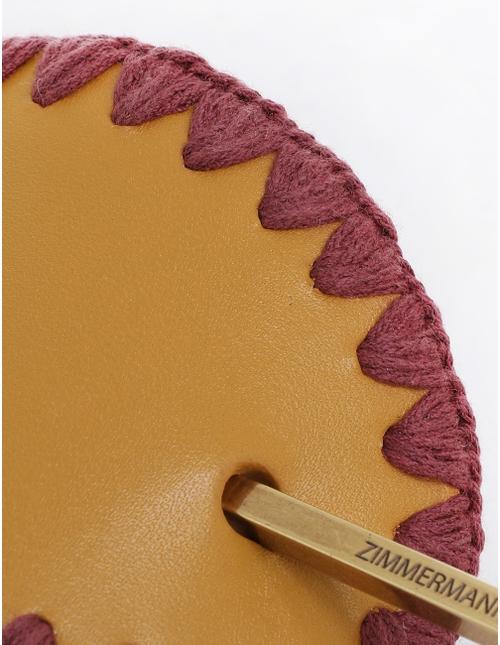 Ric Rac Leather Chignon