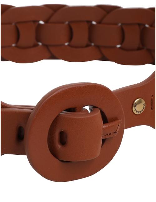 Leather Link Belt