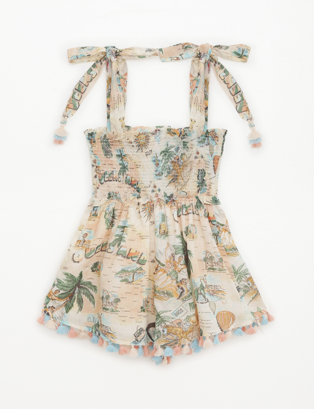Kirra Shirred Playsuit