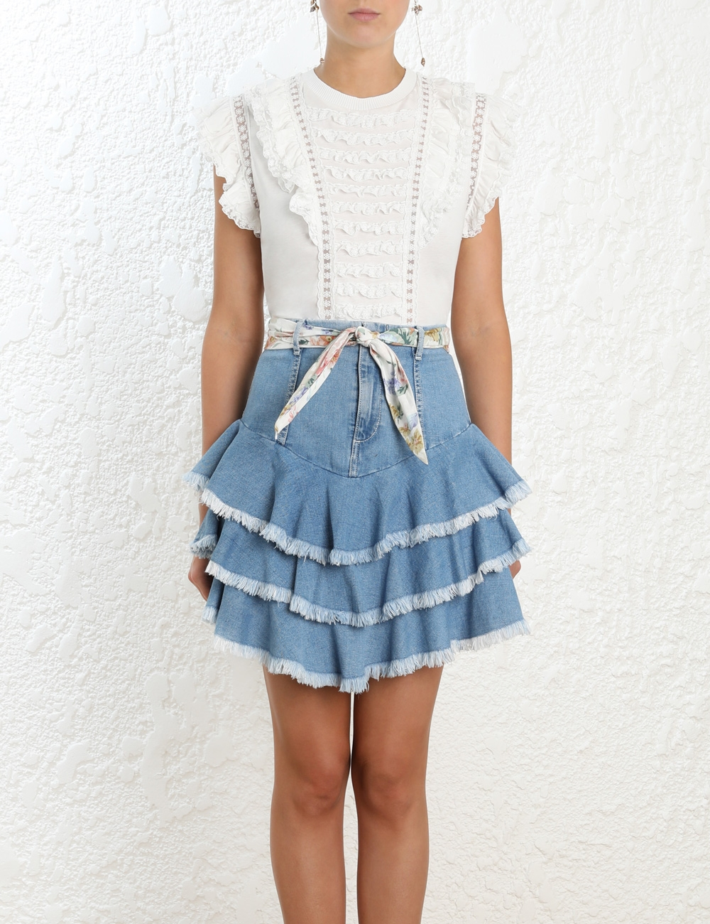 Bowie Ruffle Skirt
