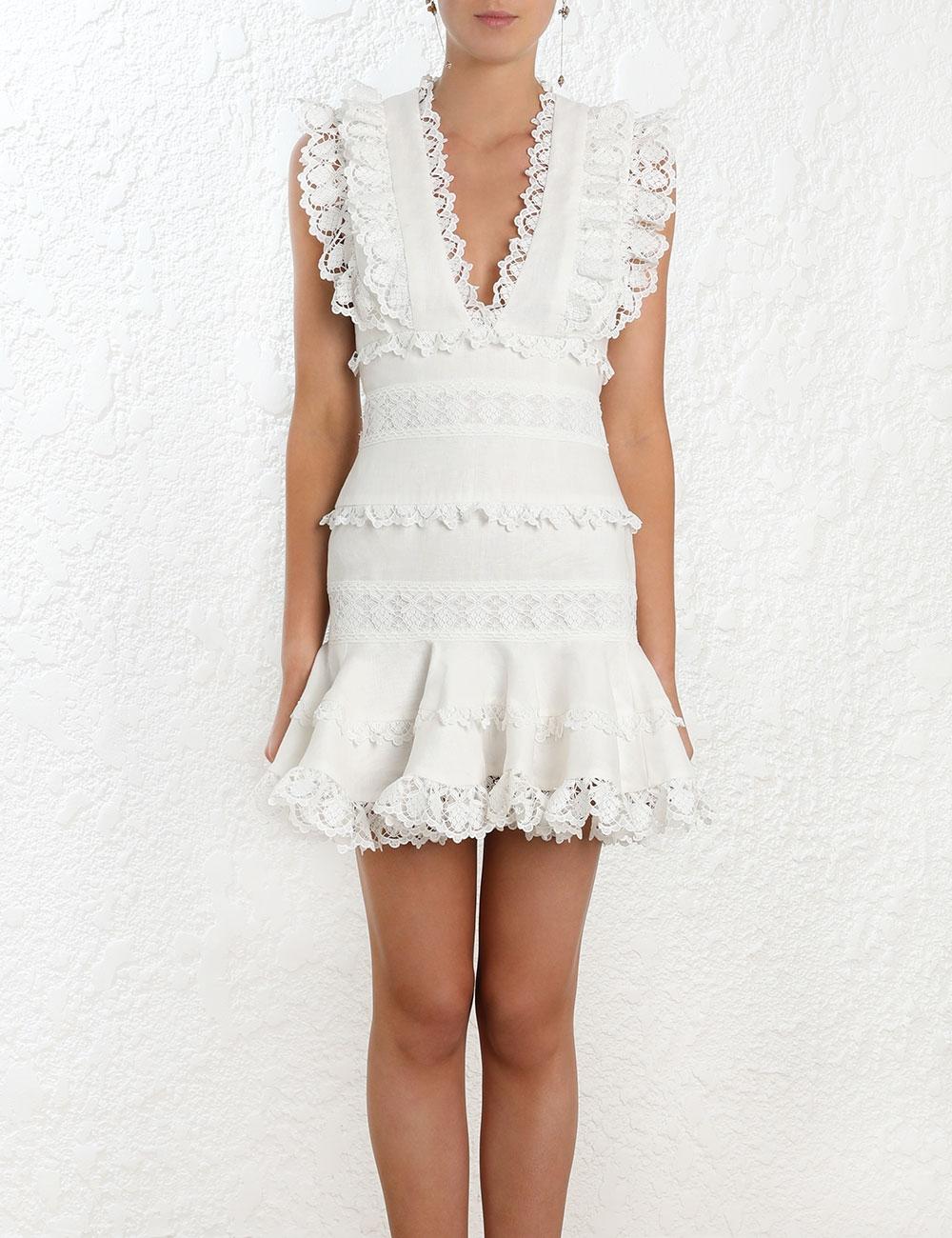 Wayfarer Flutter Dress