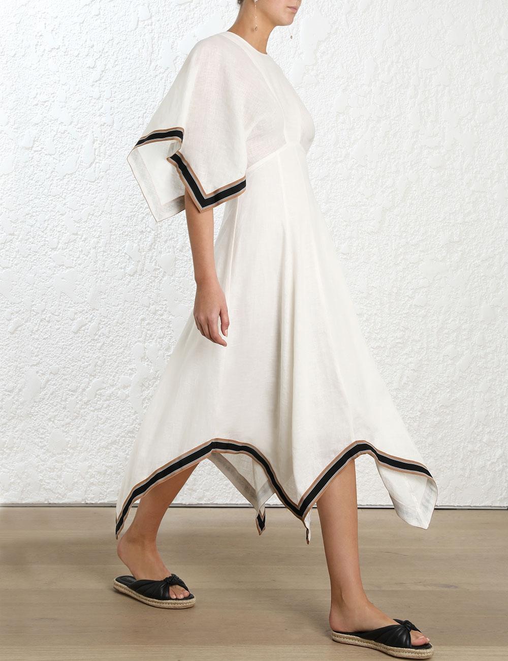Juno Ribbon Long Dress