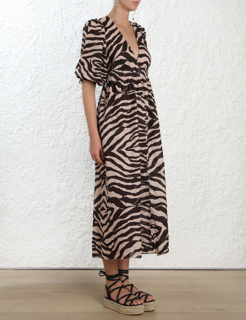 Juniper Shirred Waist Dress