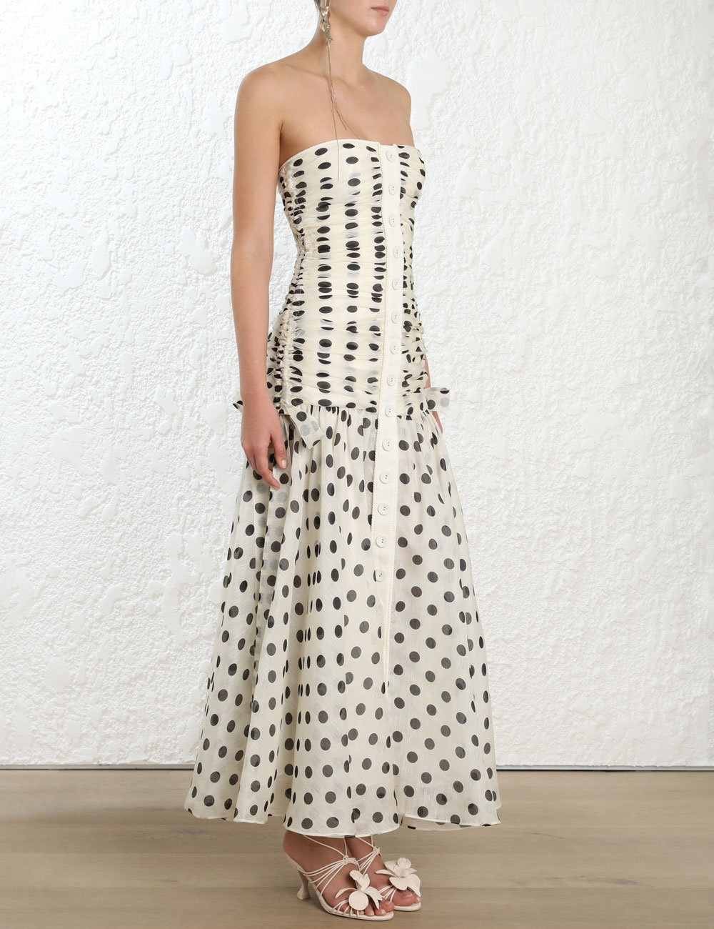ca208ee119044 Corsage Ruche Dress