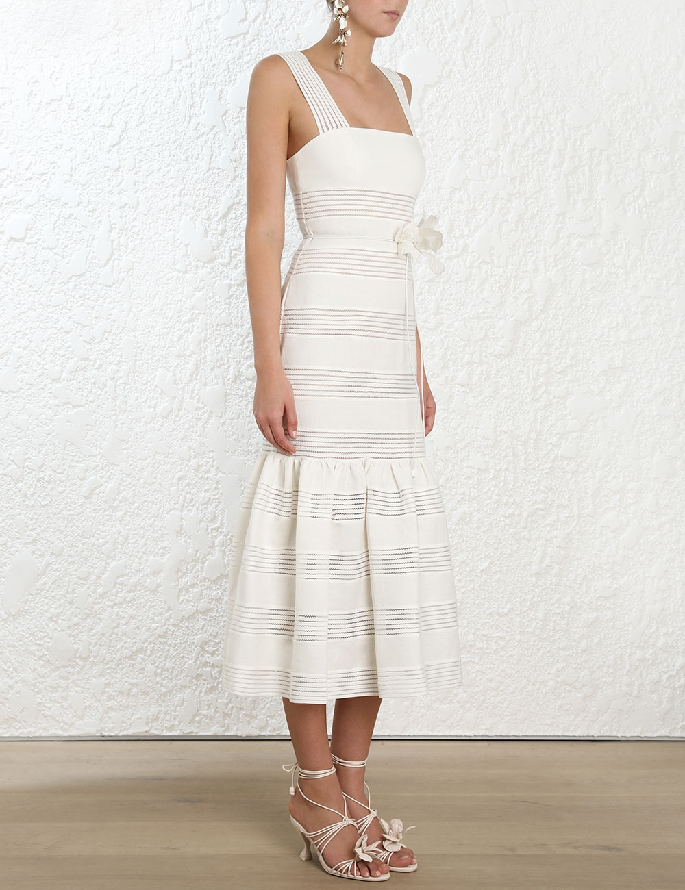 Corsage Linear Dress