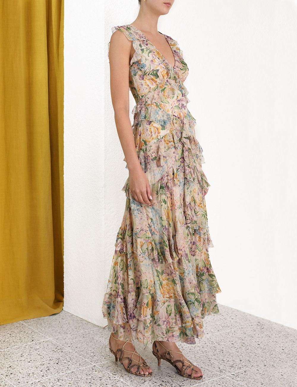 Ninety-Six Flutter Dress