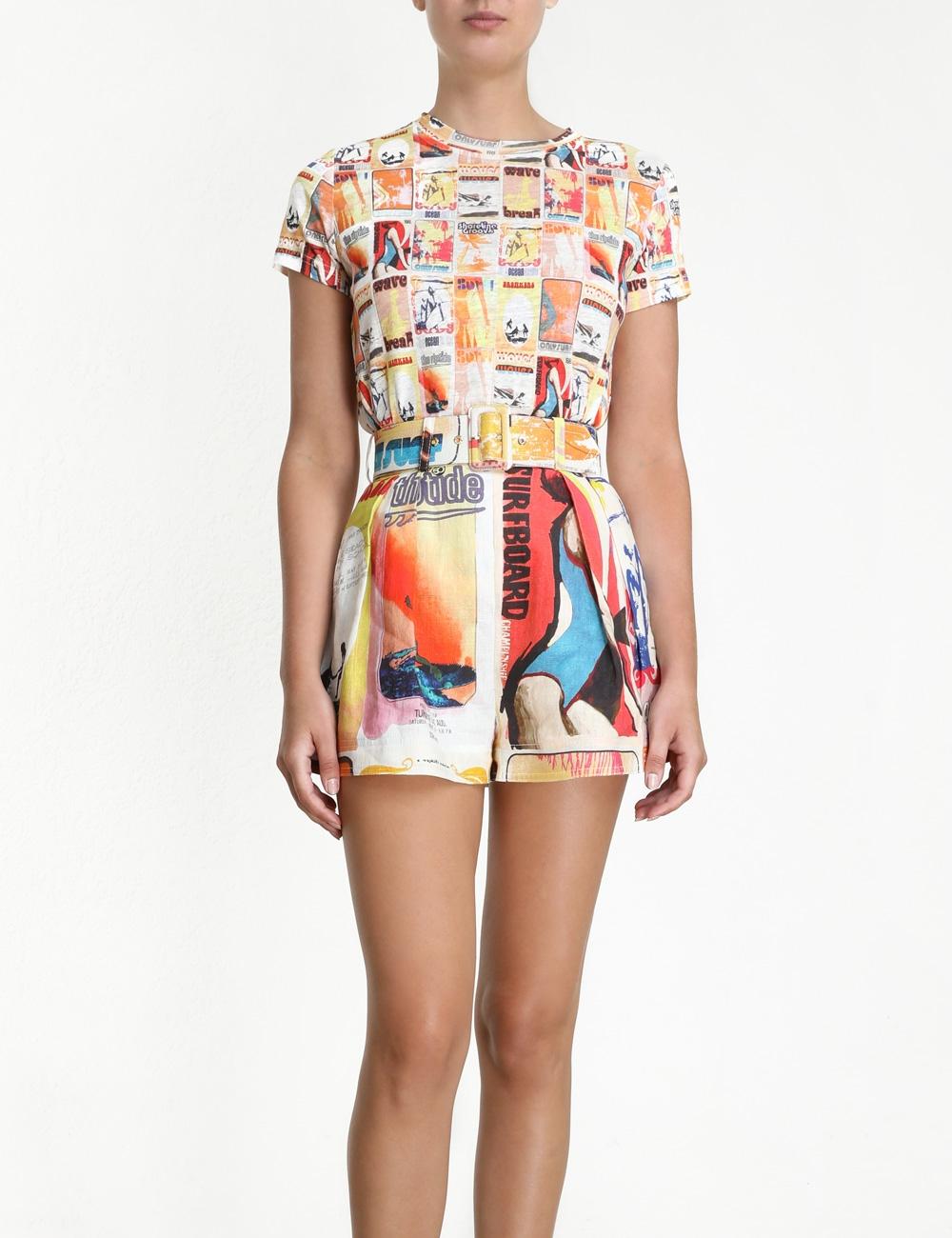 Brightside Flared Shorts