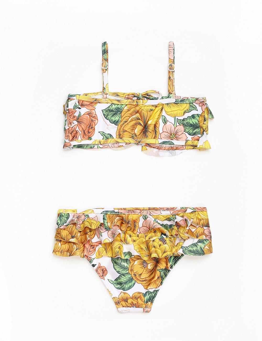 Poppy Frill Bikini