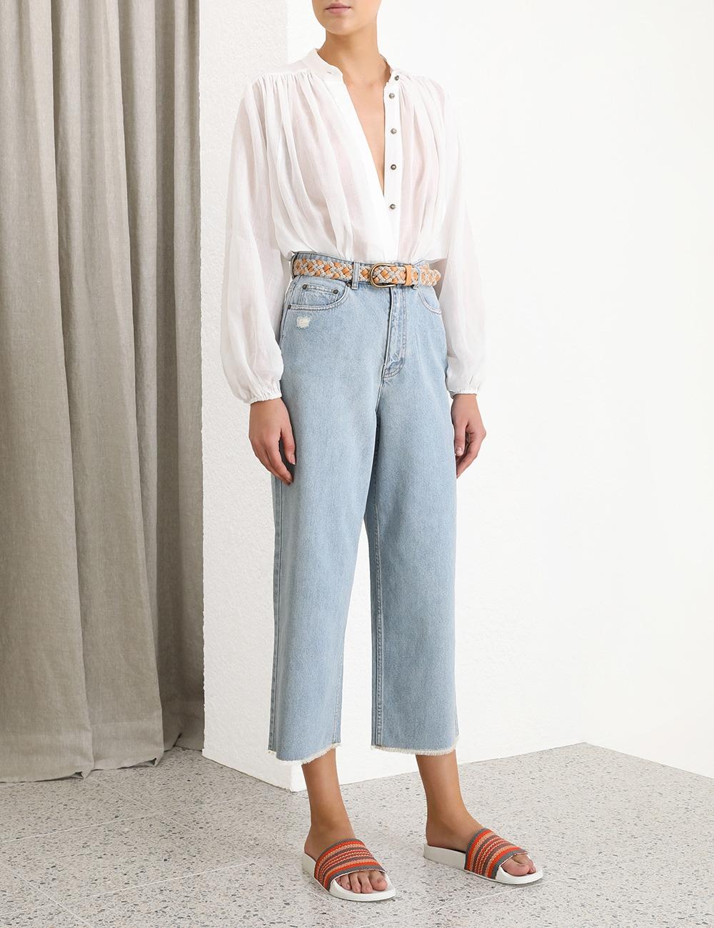 Edie Crop Flare Jean