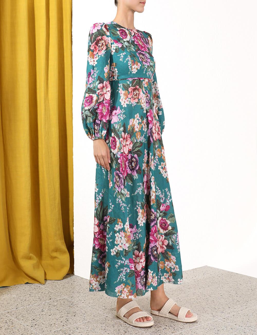 Allia High Neck Dress