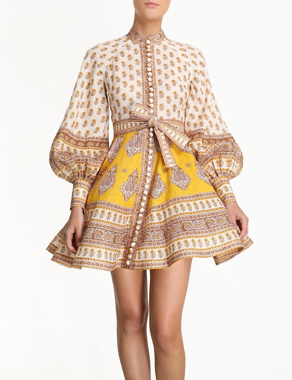 Bonita Buttoned Dress