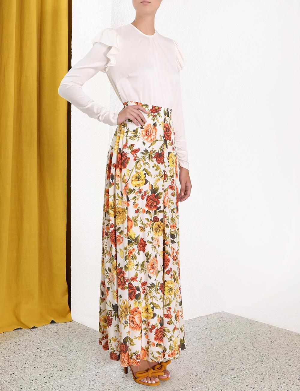 Zippy Basque Skirt