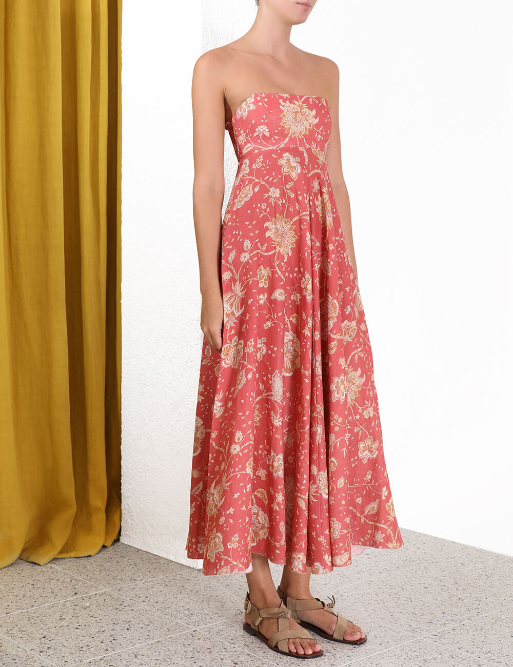 Veneto Strapless Long Dress