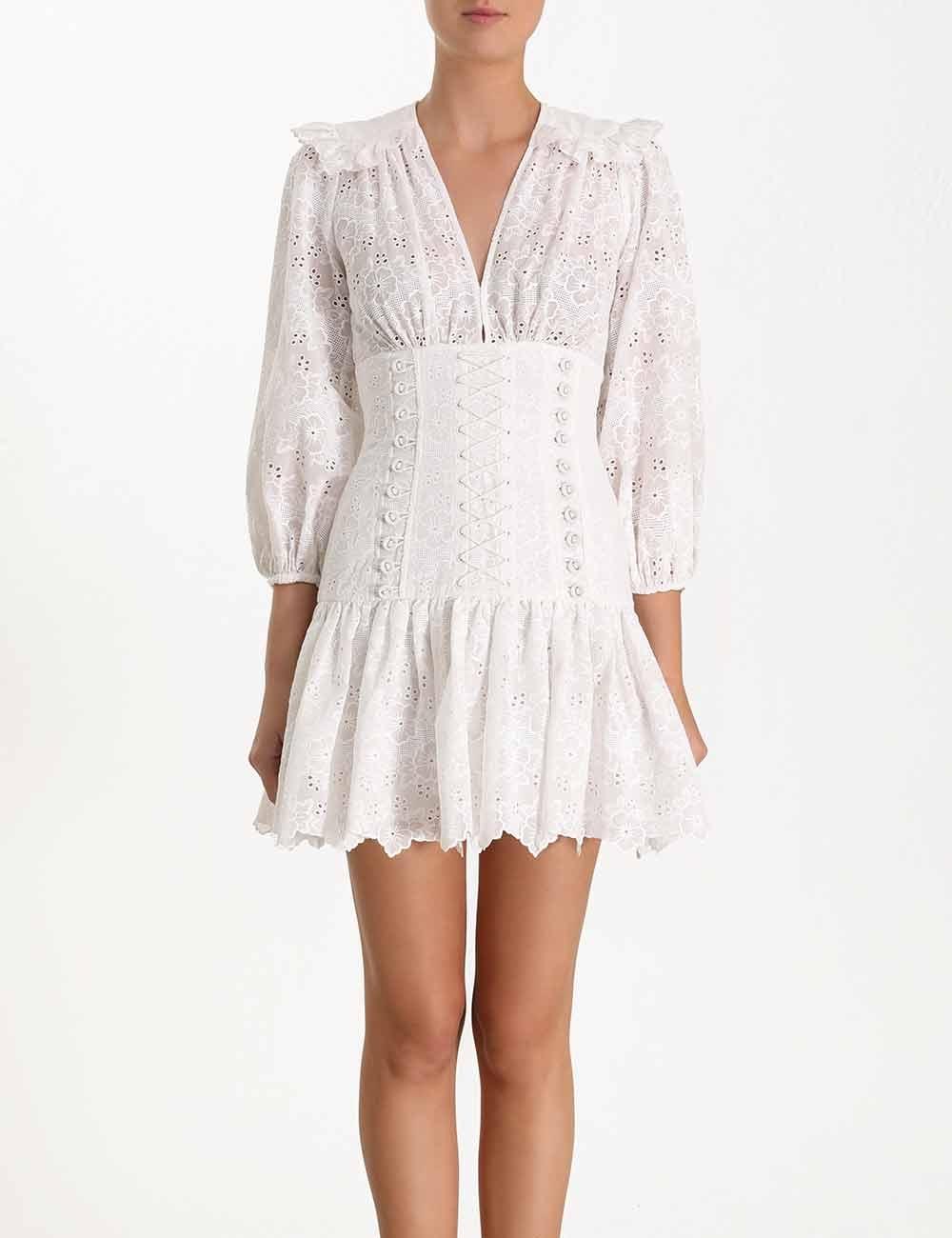 Honour Corset Lace Short Dress