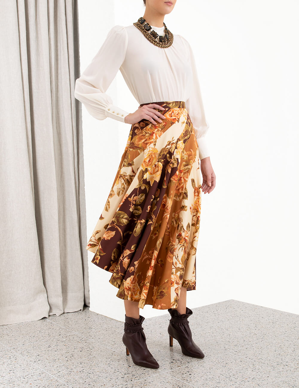 Resistance Spliced Skirt