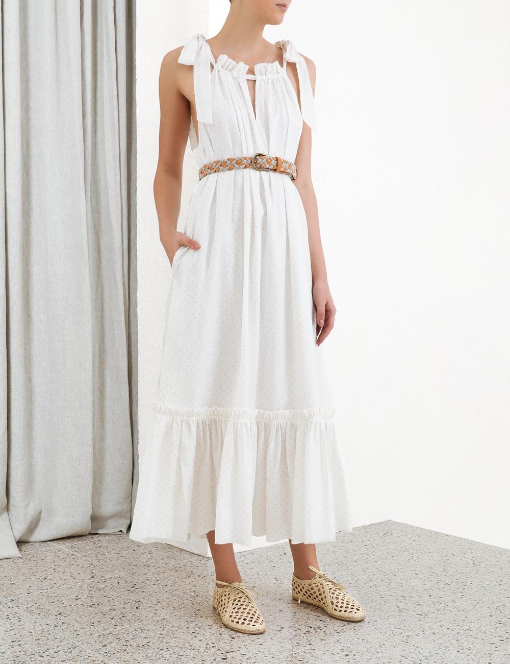 Zinnia Tie Shoulder Dress
