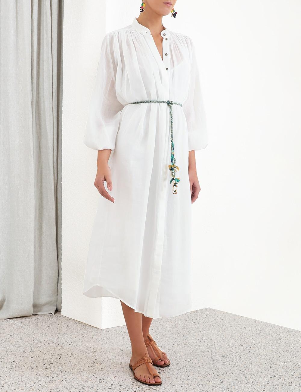Edie Batwing Long Shirt Dress
