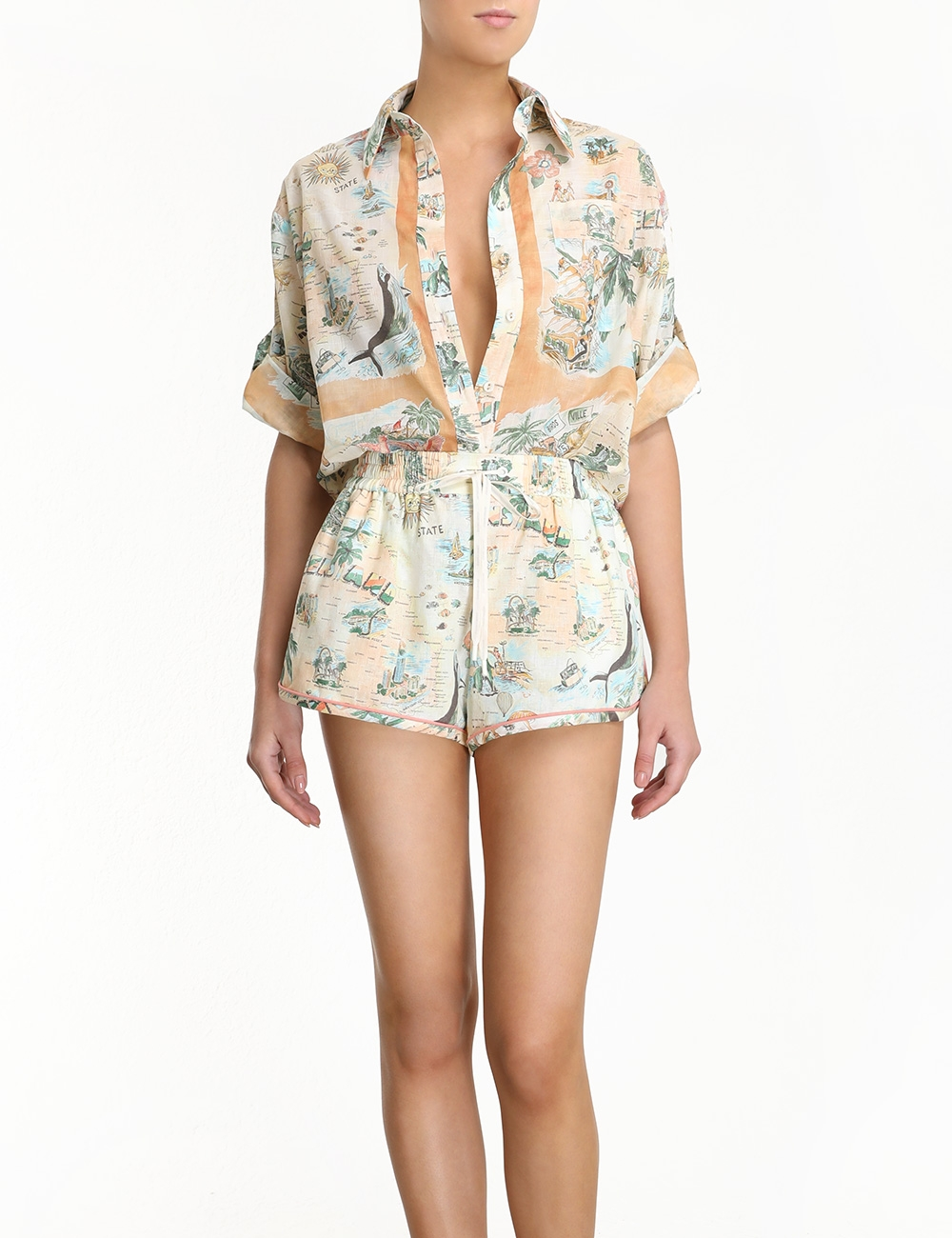 Kirra Button Up Shirt