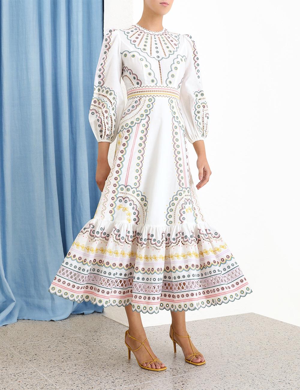 Peggy Multi Long Dress