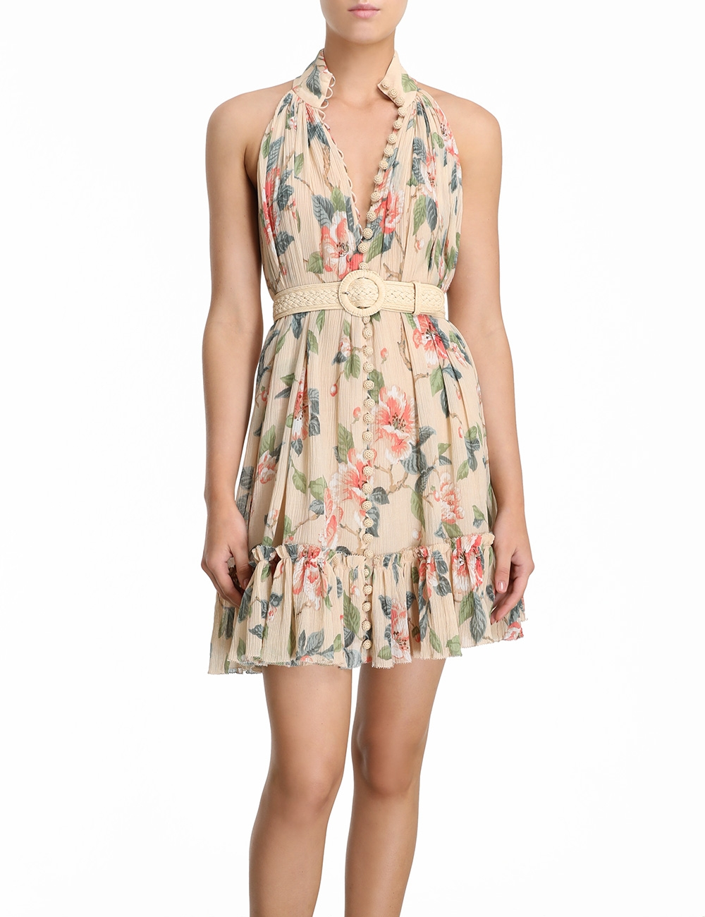 Kirra Short Halter Dress
