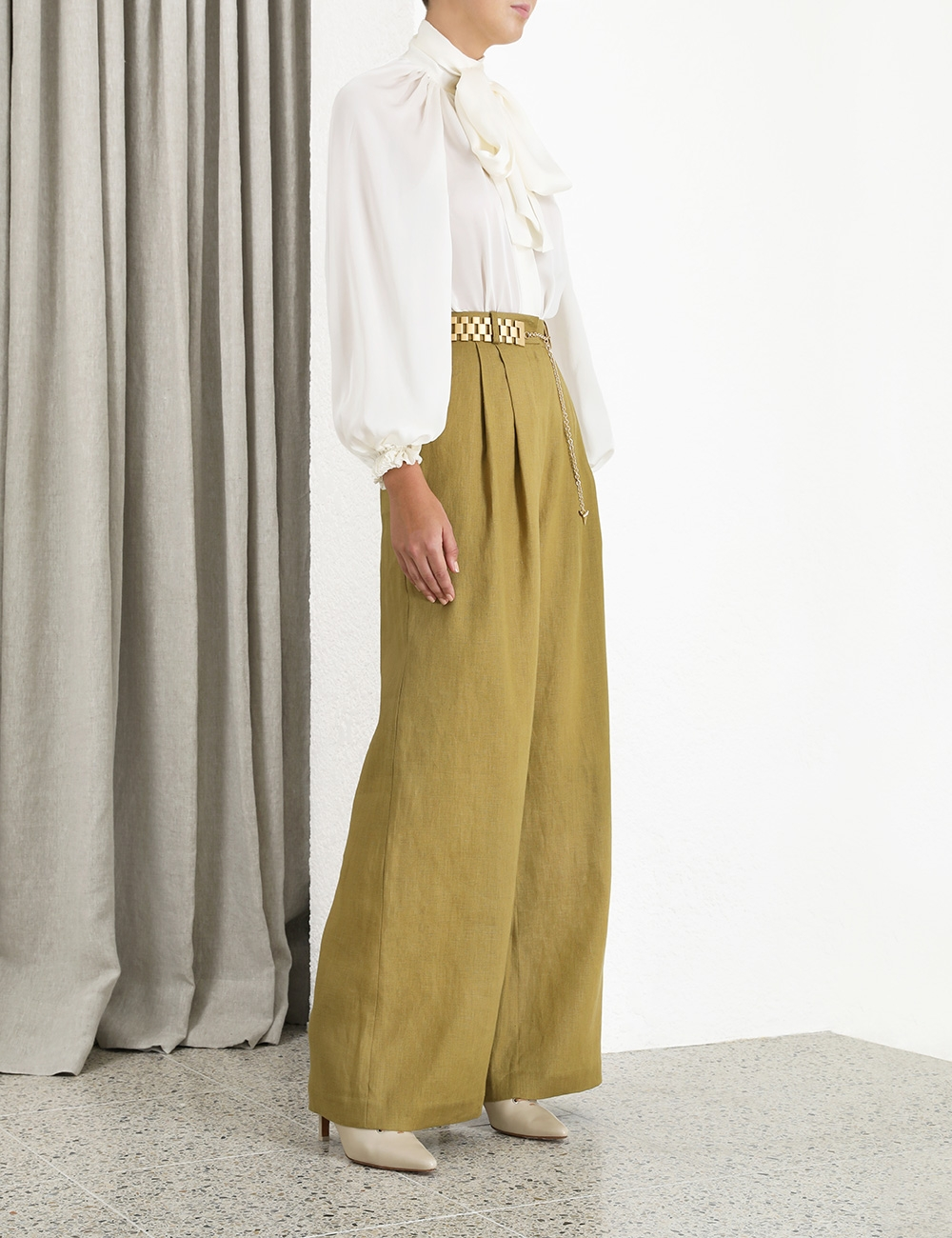 Wavelength Wide Leg Trouser