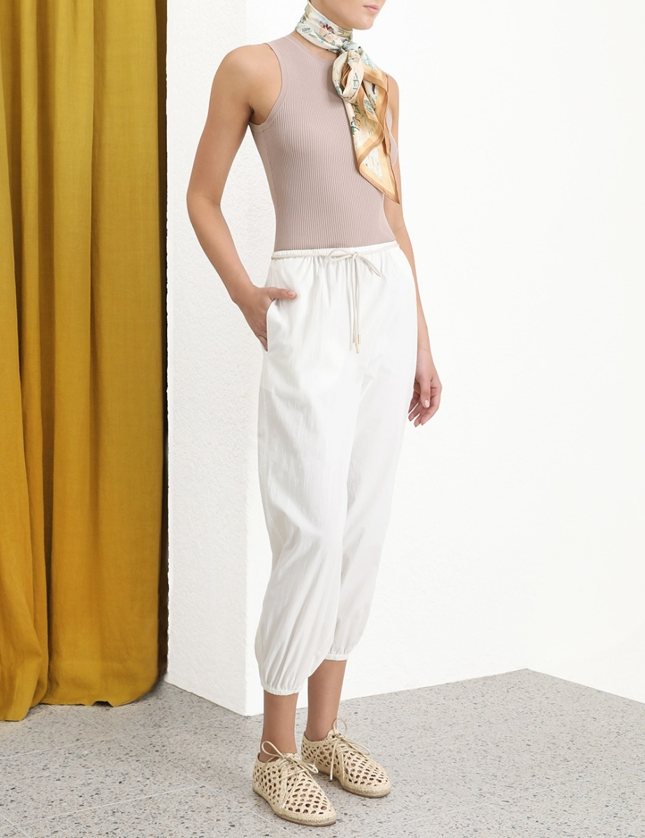 Peggy Draw Waist Pant