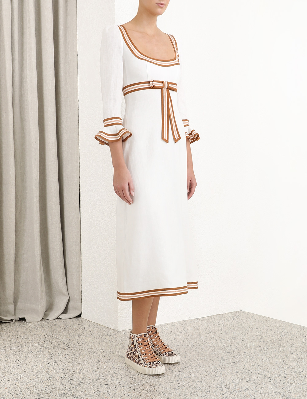Super Eight Ribbon Midi