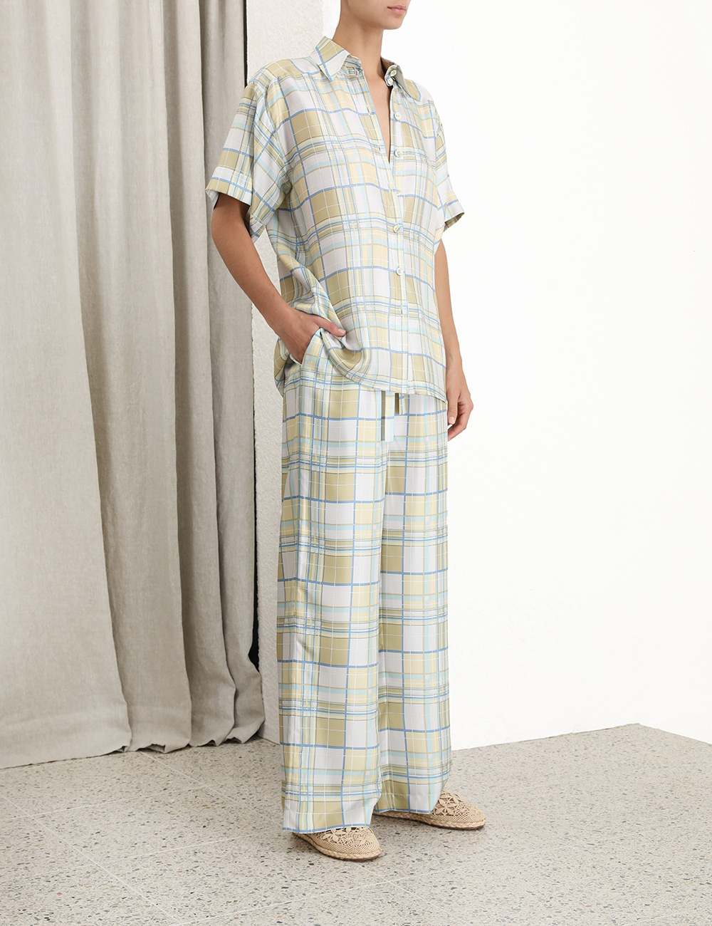 Super Eight Pyjama Style Shirt