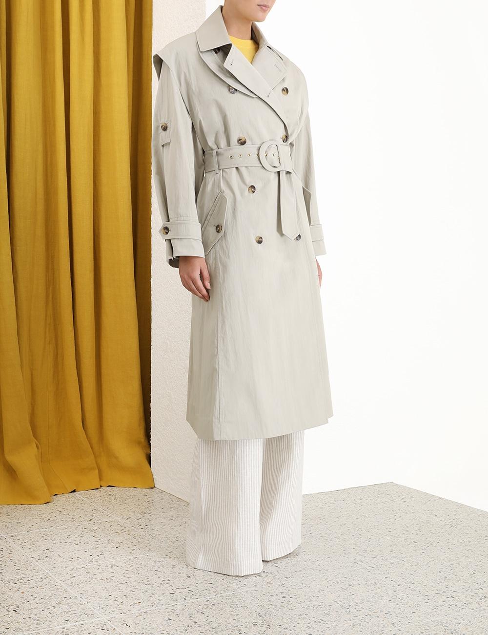 Super Eight Trench Coat