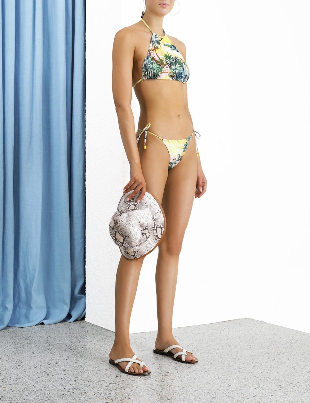 Juliette Halter Bikini