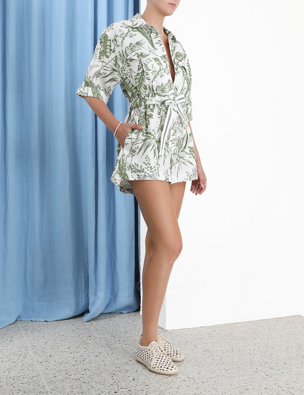 Empire Utility Playsuit