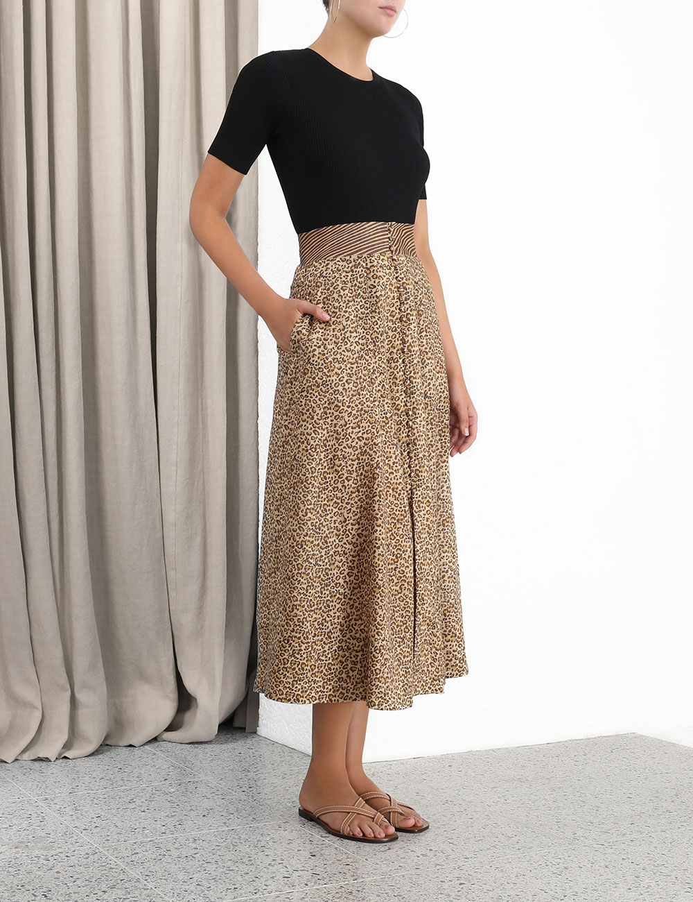 Empire Full Skirt