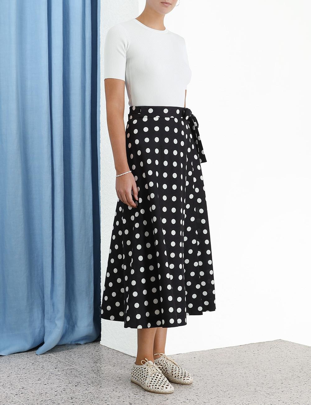 Bellitude Wrap Skirt