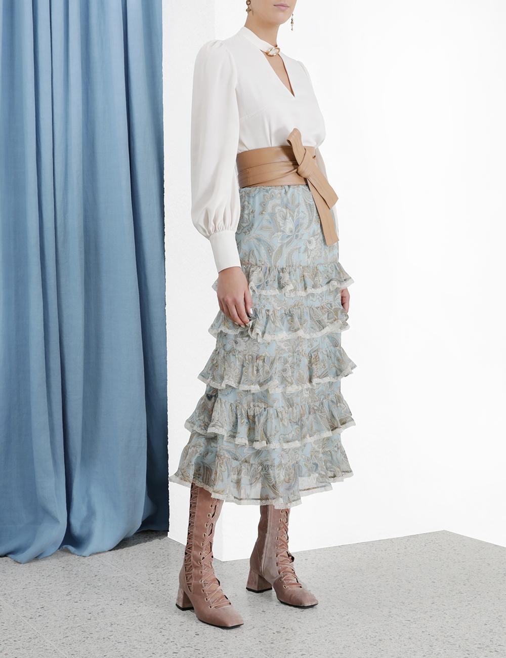 Ladybeetle Tiered Frill Skirt