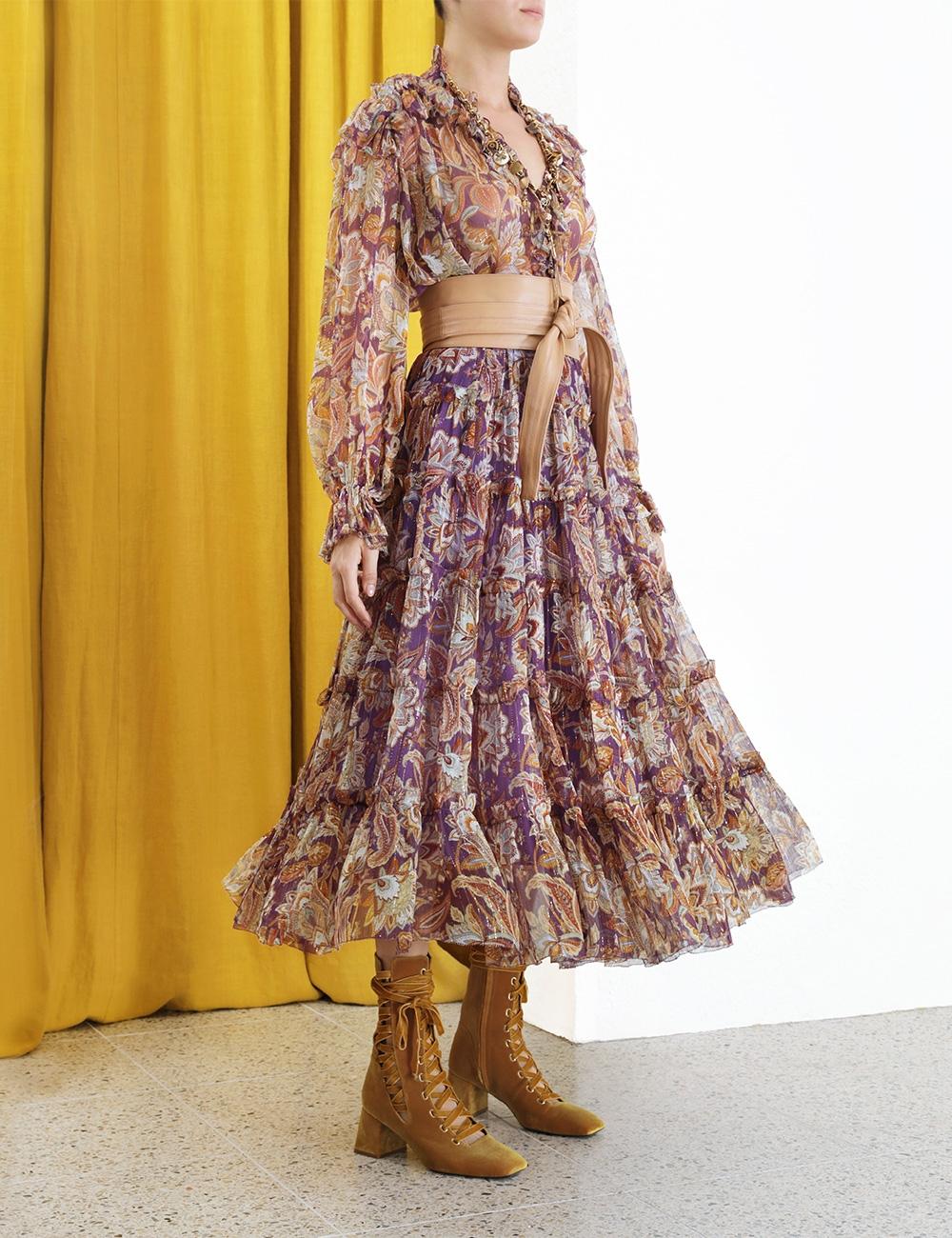 Ladybeetle Lurex Skirt