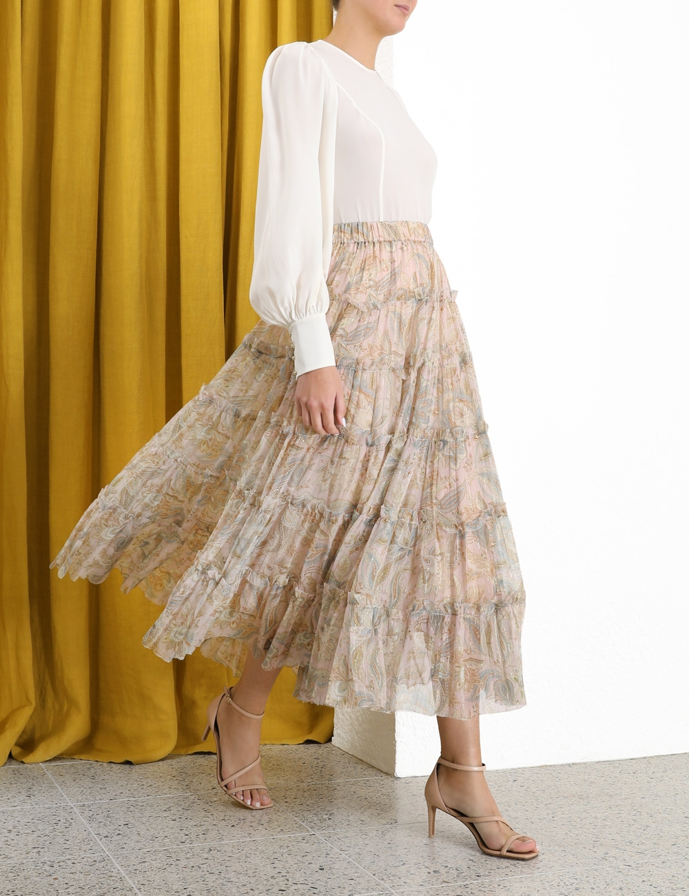 Lucky Lurex Skirt