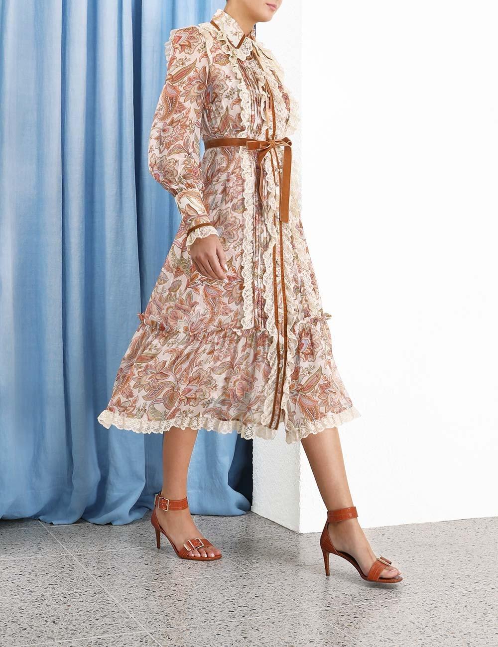 Lucky Lace Collar Dress