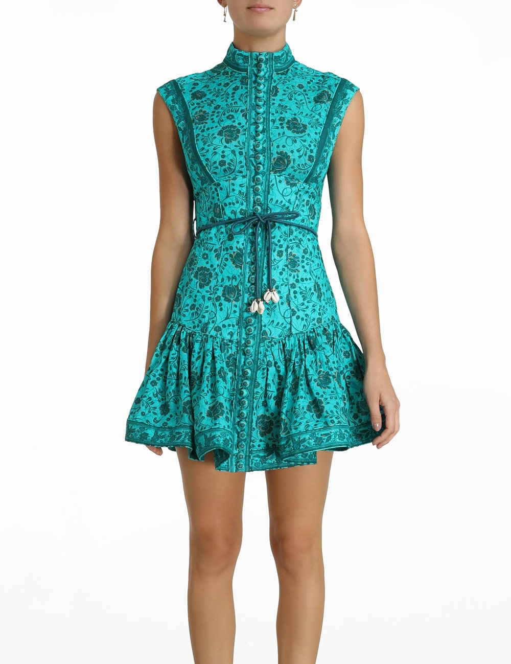 Lulu Panelled Flip Mini Dress