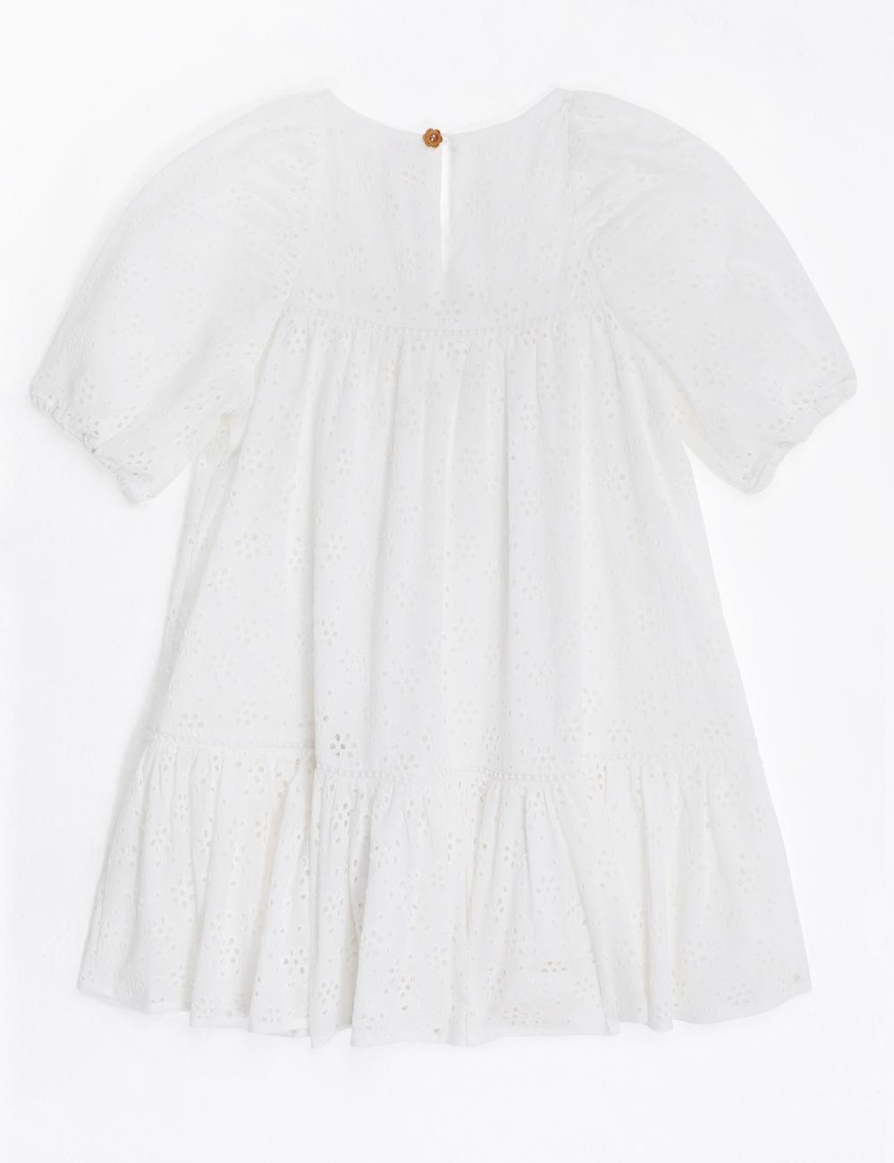 Aliane Puff Sleeve Dress