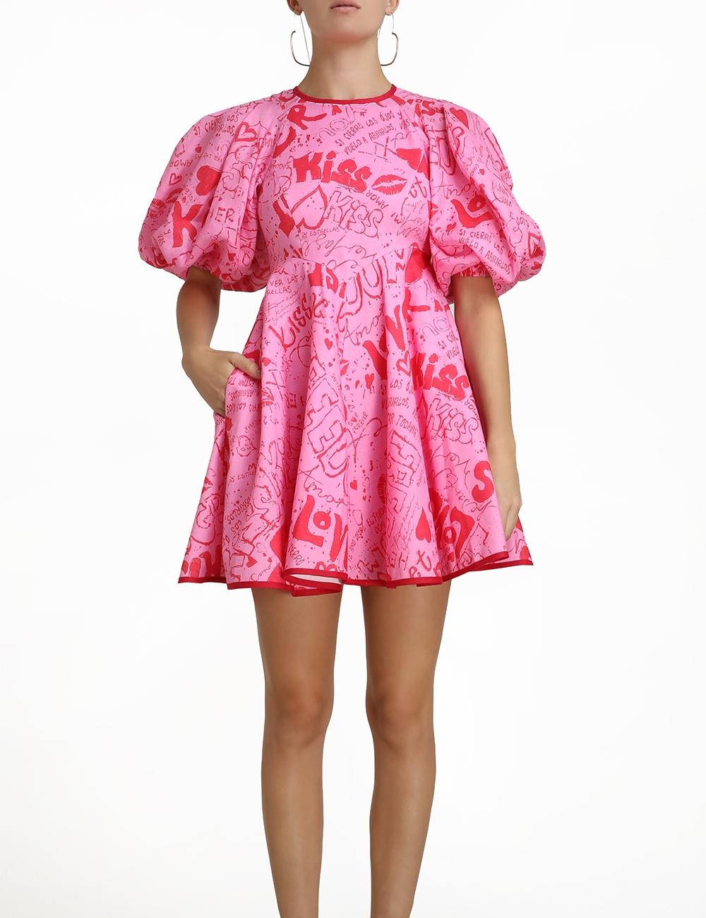 Linen Day Mini Dress