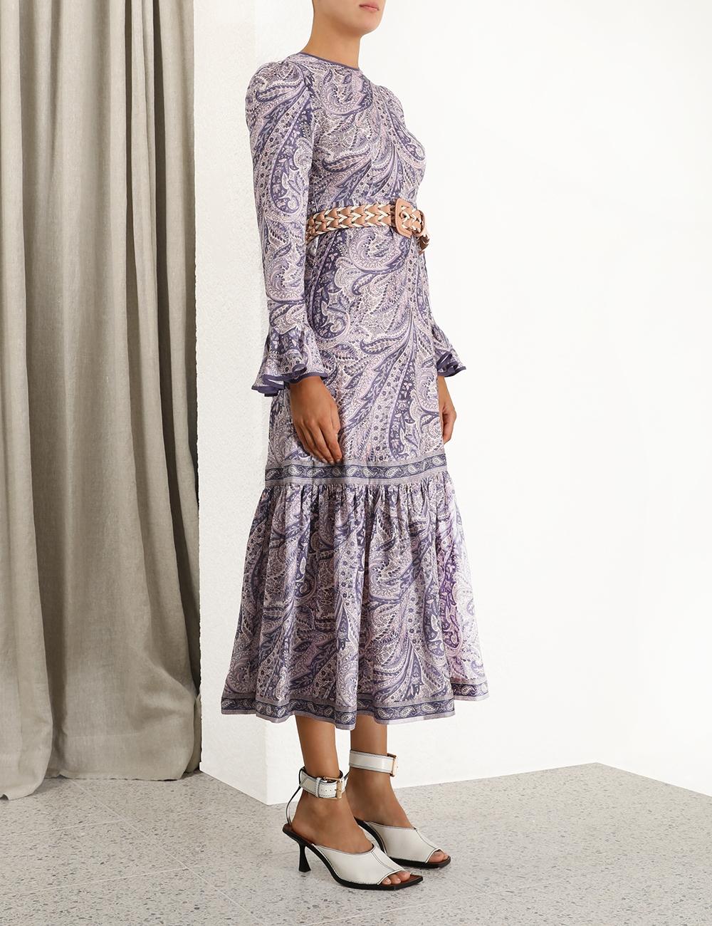 Brighton Frill Midi Dress
