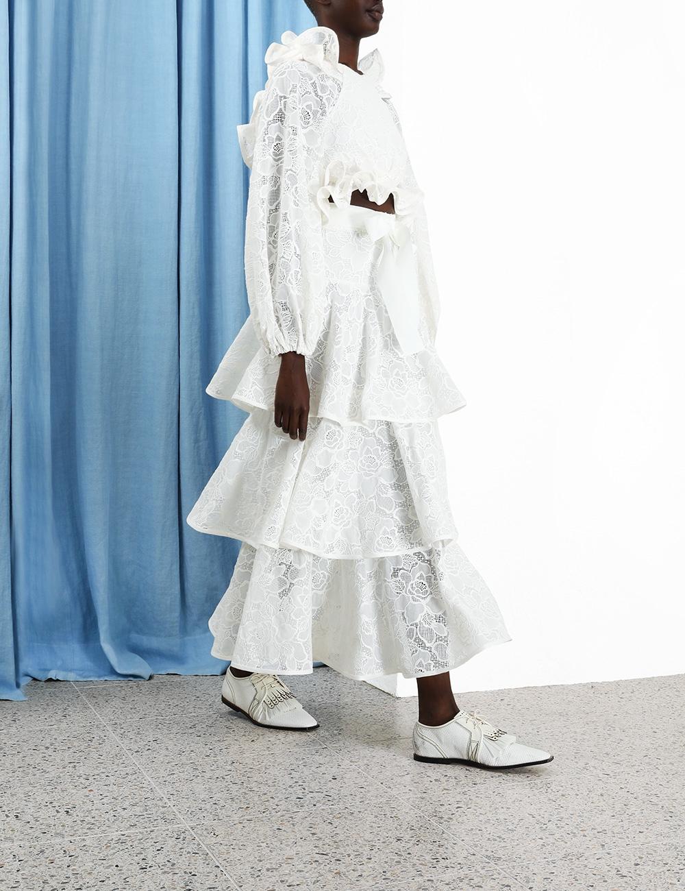 The Lovestruck Lace Skirt