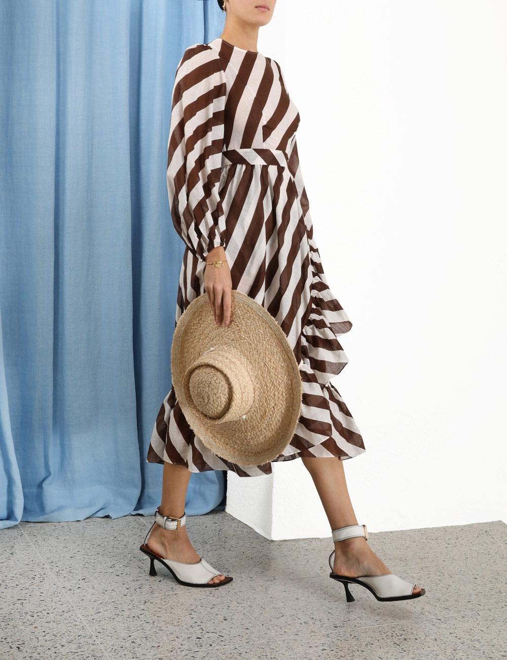 Lulu Asymmetric Frill Dress